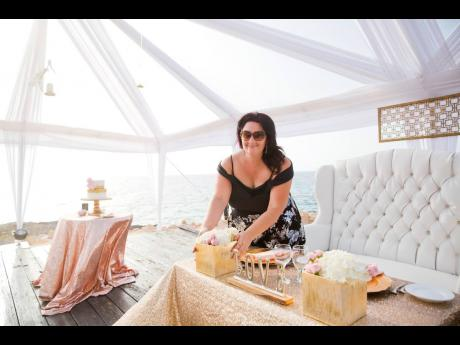 """Jennifer Borgh: """"Finding out the night before arriving in Jamaica that wedding numbers were at 50, but starting tomorrow are 25, is just not cute."""""""