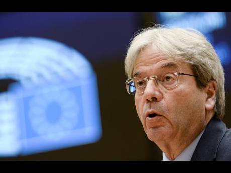 European Commissioner for Economy Paolo Gentiloni.