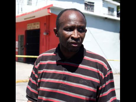 Bruce Fletcher, older brother of Robert Fletcher who was robbed and killed at Travellers Rest Sports Bar in Swallowfield on Monday.