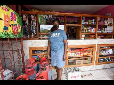 Michele Swearing, shopkeeper at Top Road in Mavis Bank, St Andrew, says the Gordon Town road breakaway has been making it very expensive to operate her business.
