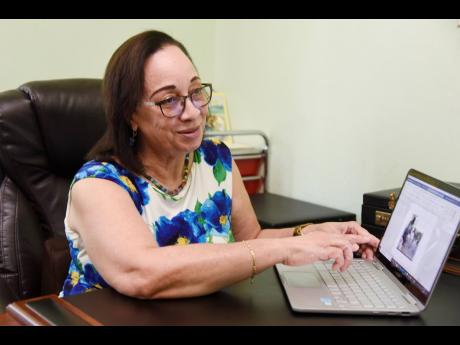 Professor Maureen Samms-Vaughan says that designated learning spaces are critically important for students forced to engage in online learning from home.