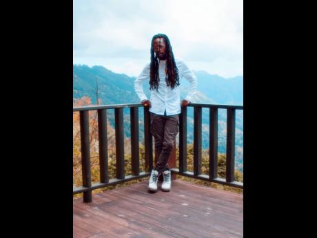 The hills and sky make a beautiful backdrop on the set of Jesse Royal's new music video. 'Rich Forever' was shot in the hills of Kingston, Jamaica, and directed by Xtreme Arts. It portrays Jesse Royal as King Midas, and sees him turning rags to riche