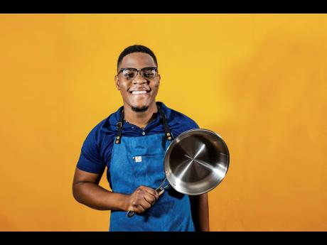 The man behind the pot is none other than YouTuber, recipe developer and self-taught chef Onari Cowan.    NB: THAT IS NOT A POT.