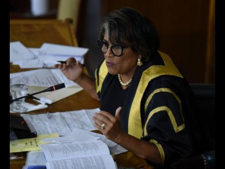 Speaker of the House, Marisa Dalrymple Philibert.