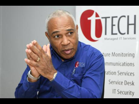 CEO of tTech Limited Christopher Reckord.