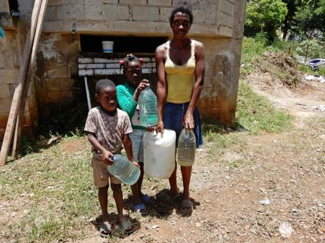 Michelle and two younger relatives go hunting for water.