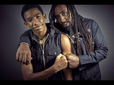 Joshua 'Tai-C' Craigie (left) and his father, Valton 'VC' Craigie. Right: Tai-C said he always saw dance as a career, but now he's seeing things differently, and wants to pursue music as well.
