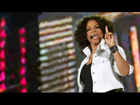 Janet Jackson's ensemble from the 'Scream' music video, where she appeared opposite her brother Michael Jackson, were among the items up for bid in a three-day auction.