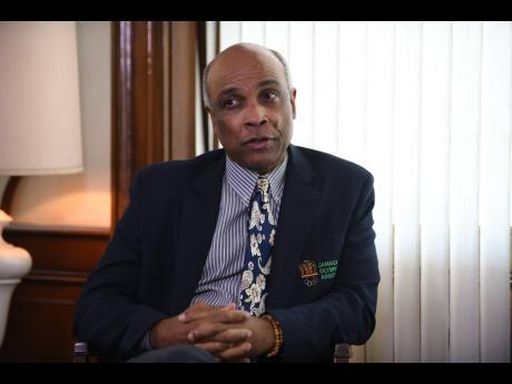 Jamaica Olympic Association President Christopher Samuda.