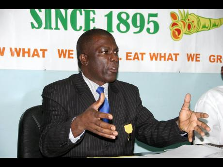 Chairman of the Jamaica Coffee Exporters Association, Norman Grant.