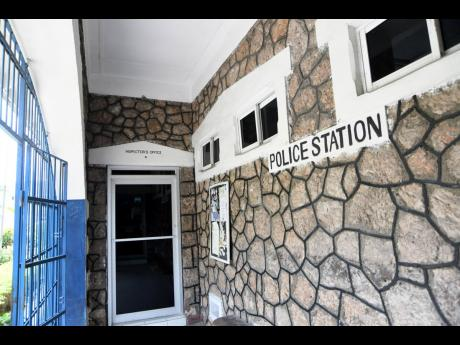 A section of the 125-year-old Bull Bay Police Station, St Andrew.