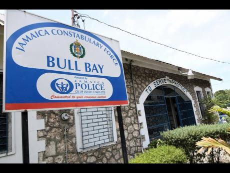 The Bull Bay Police Station, St Andrew.
