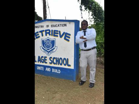 Garth Herron, principal of Retrieve All-Age School, located just to the west of the St James border in Westmoreland.