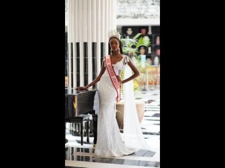 The Jamaican beauty said she was 'extremely disappointed' when she did not make it to the top five of the Miss Universe pageant but that she is ready to make an impact and use and build her growing platform.