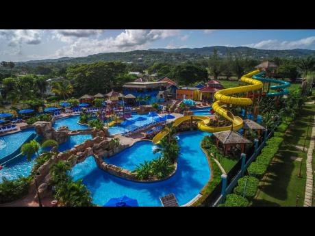 File  The waterpark at Jewel Runaway Bay in St Ann, one of the properties sold by Playa Hotels last year.