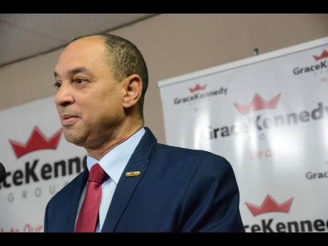 File  Don Wehby, Group CEO of GraceKennedy Limited.