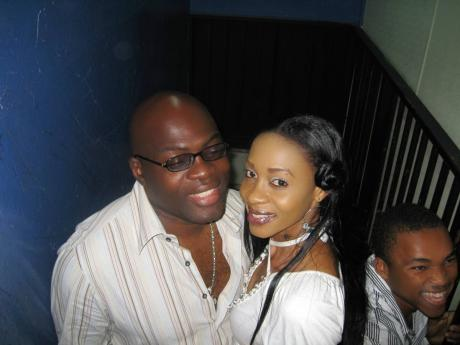 From left: Richie Stephens, Keiva Di Diva and Stephens' son, the late Coppa Cat. Keiva Di Diva was part of the music video for 'Bicycle', by Copa Cat.