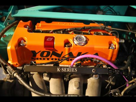 One of Lee-Sing's engine designs.