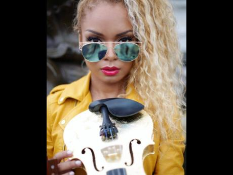 Mapy currently has six violins in her possession, some of which she does not play.