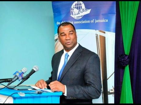 William Brown, president of the Shipping Association of Jamaica and chairman of Group D, Caribbean Shipping Association.