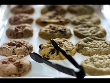 Tai Tai has a wide variety of cookies.