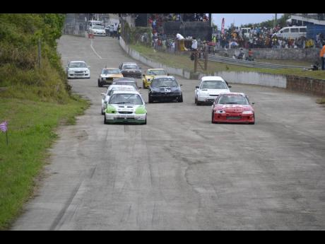 Action from the Independence of Speed race meet at the Dover Raceway in St Ann on Monday August 7, 2017.