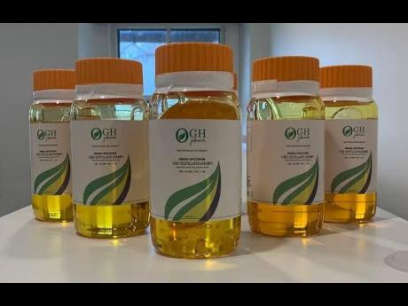CBD oil produced by Organic Growth Holdings.