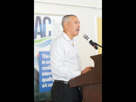 Steven Marston, CEO of ENRVATE Limited, a joint venture between CAC 2000 Limited and Tropical Battery Company Limited.