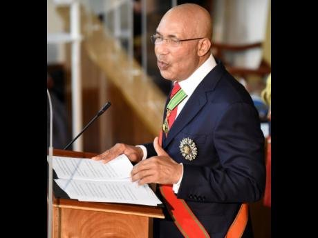 Governor General, Sir Patrick Allen.