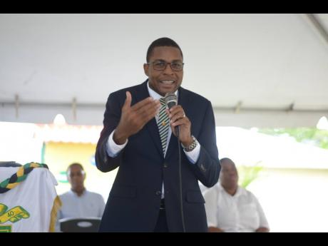 Robert Nesta Morgan, state minister in the Ministry of Education, Youth and Information.