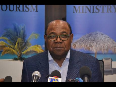 Tourism Minister Ed Bartlett said that all the Mocha Fest patrons had been 'double-vaccinated' and that the event organisers were not at fault for the event held at Rick's Café.