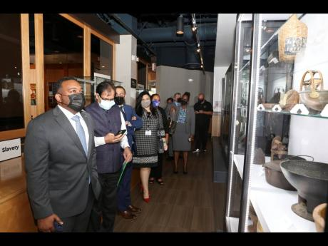 The museum has attracted several dignitaries, including Stéphane Gilles, Haitian consul general, who visited earlier this year in March with other members of the consular corps and special guests.