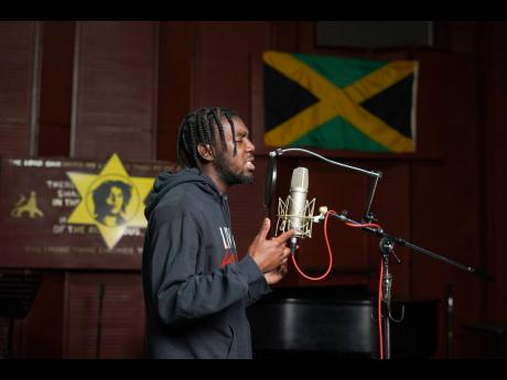 The rapper shared that reggae music plays a big role in his flow.