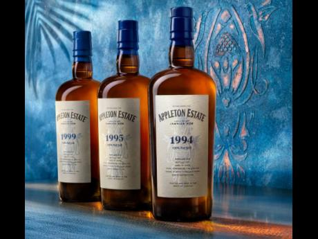 Appleton Estate's recently launched Hearts Collection consists of 1994, 1995, and 1999 vintage rums, aged 26, 25, and 21 years respectively. The Hearts Collection acquires its characteristics from American Oak barrels and the phenomenon of topical ageing