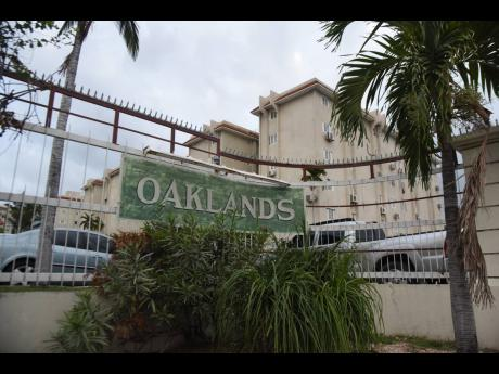 The Oaklands Apartments on Constant Spring Road in St Andrew, where William Dewar lived.