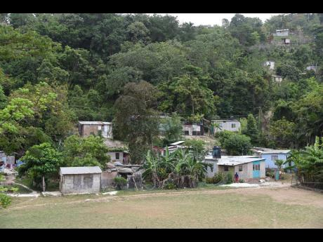 A section of Parry Town in St Ann.