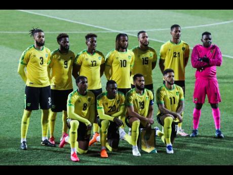Jamaica's Reggae Boyz.
