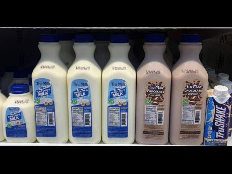 The newest milk products to be introduced to the market, Tru-Moo and Tru-Milk, are made by newcomer to the dairy market Trade Winds Citrus Limited.