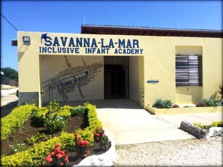 The Savanna-la-Mar Inclusive Infant Academy in Westmoreland