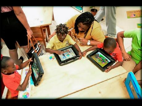 Digital teaching is a big part of the learning experience at Sav Inclusive