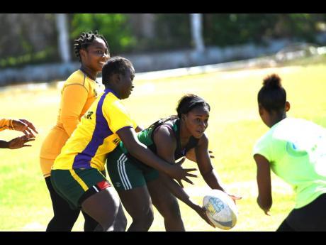 Jamaica's Lady Crocs rugby union team.