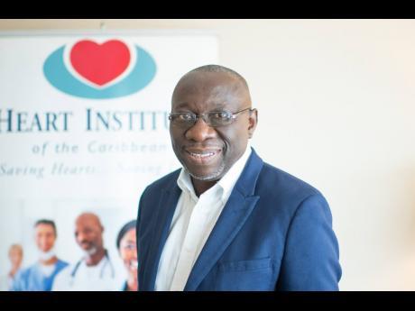 Heart Institute of the Caribbean Chairman Professor Ernest Madu.