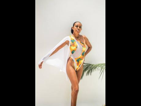 The Summer Breezin' monokini by DTS SWIM.