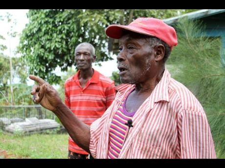 Dudley Howell and Manley Howell of Redlands, Clarendon, are proud of their late cousin, Leonard Howell, who found the Rastafarian movement.