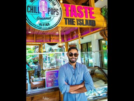 Damir Tufail, founder of Chill-Pops.
