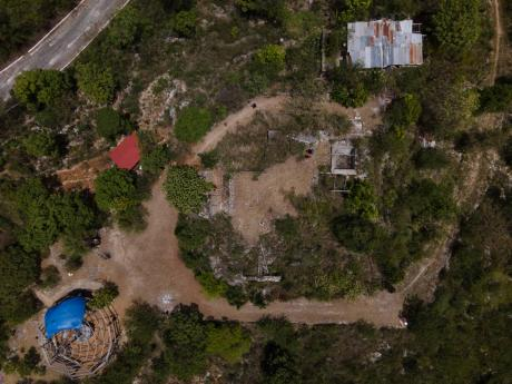 Pinnacle, located in St Jago Hills, St Catherine, as seen on Wednesday June 16, 2021. Yesterday, Rastafarians gathered there for the celebration of 123rd anniversary of the birth of Leonard Howell, who is regarded as the founder of the Rastafarian movement