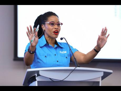 Kayon Mitchell, executive director, Flow Foundation.