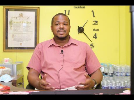 Reverend Marlon Simpson, associate clinical psychologist at Church Teacher's College, is encouraging parents, especially fathers, to listen keenly to their children.