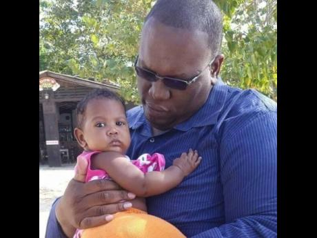 Ralston Barrett has been raising his daughter Symphony on his own since she was one year old.