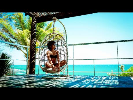 Gently swaying with the help of energetic sea breezes, Wedderburn believes that these swings at Villa Elia in Treasure Beach offer a peaceful nook to relax, reflect and recharge.